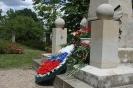 Treffen auf dem sowjetischen Ehrenfriedhof in Pirna