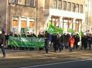 Antifa-Demonstration in Dresden