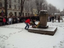 27.01.2011 - Kranzniederlegung in Pirna