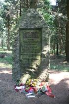 Gedenkveranstaltung in Altenberg für die an der Schneise 31 ermordeten Antifaschisten