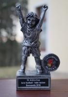 Der Pokal zum Kickerturnier