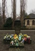 Gedenkstein in der Grohmannstraße in Pirna