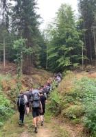 """Dieses Jahr fand das 12. Wanderseminar """"Auf den Spuren der Roten Bergsteiger*innen"""" statt und führte uns rund um Hinterhermsdorf"""